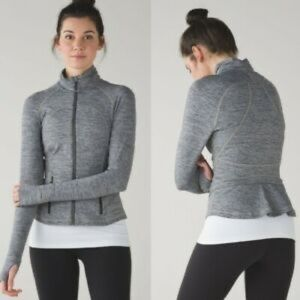 Lululemon Rare Athletic Peplum Back Jacket